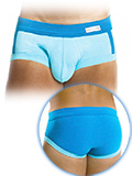 Modus Vivendi - Greek Brief - Aquamarin-Blau