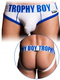 Andrew Christian - Trophy Boy Brief Jock - Weiß