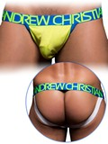 Andrew Christian - CoolFlex Sports Jock with Show-It - Limette