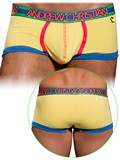 Andrew Christian - Retro Pop Sonic Boxer With Show-It Yellow
