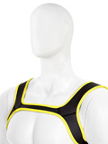 Pupplay Neoprene Harness - Yellow/Black