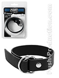 Push Xtreme Leather - Chicago Cock & Ball Simple Belt Strap