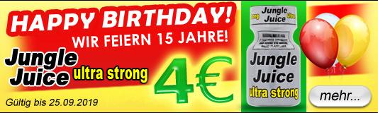 Jungle Juice Ultra Strong um nur 4 Euro!