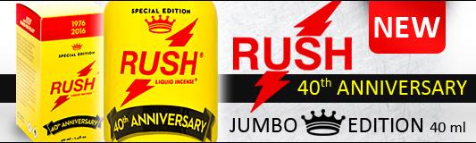 Jumbo Rush 40th Anniversary
