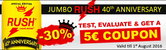 Jumbo Rush 40th Anniversary