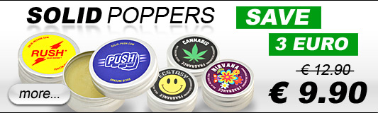 Brand new: Solid Poppers