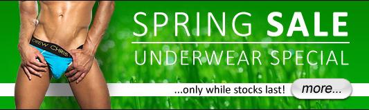 Underwear Spring Sale