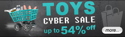 Toys Cyber Sale